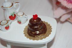 Cake for Valentin' day Dollhouse by sunnyshop211 on Etsy