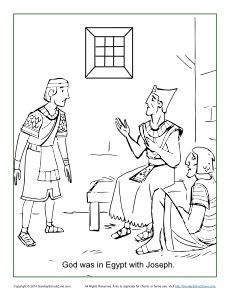 1000 images about kids joseph 39 s life on pinterest for Joseph in jail coloring page