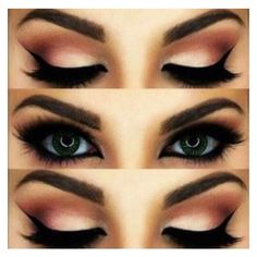 Eye Makeup Tutorials ❤ liked on Polyvore featuring beauty products, makeup, eye makeup, eyes and beauty