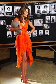 Stana Katic as Kate Beckett Stana Katic Hot, Beautiful Celebrities, Beautiful Women, Castle Tv Shows, Castle Abc, Castle Series, Kate Beckett, Canadian Actresses, Famous Women