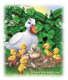 describes the meaning, shows a great illustration for the plot of this book. Illustrations, Illustration Art, Quack Quack, Children's Literature, Stories For Kids, Peace And Love, Childrens Books, Fairy Tales, My Books