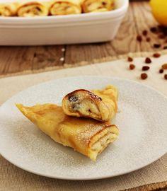 Bécsi túrós palacsinta Waffles, Pancakes, Food Network, French Toast, Curry, Paleo, Breakfast, Ethnic Recipes, Morning Coffee
