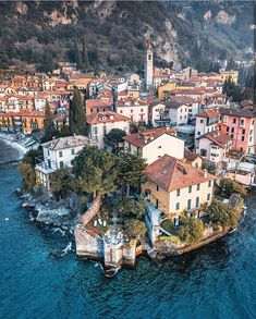 Varenna and 10 More Beautiful villages in Italy to visit. Explore these small Italian towns off the beaten path from the Amalfi Coast to Cinque Terre . these beautiful destinations belong on your Italy itinerary Cool Places To Visit, Places To Travel, Destinations D'europe, Tickets To Italy, Italian Lakes, Roadtrip, Travel Abroad, Small Towns, Italy Travel