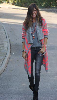 cozy jacket for fall from vila - mytenida