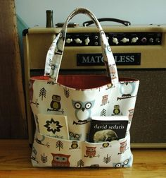 Owl bag on Etsy.  Sorry - Not crochet.