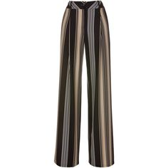 Trousers (98 CHF) ❤ liked on Polyvore featuring pants, pleated pants and pleated trousers