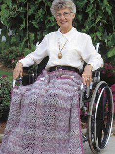 Crochet Charitable Giving Patterns Wheelchair Afghans