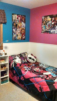 on pinterest monster high bedroom monster high and bedding decor