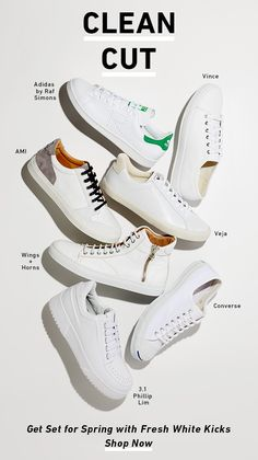 Get Set for Spring with Fresh White Kicks