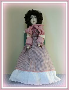 Victorian Dolls, Victorian Traditions, The Victorian Era, and Me: Swing Sweetly Annabelle Patterns and Handmade Colonial Doll
