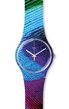 Reloj Swatch Unisex Peacobello SUOK113