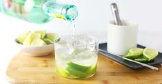 With only three easy ingredients, you could be sipping on one of theses deliciously fun caipirinhas in 5 minutes or less. Brazilian Drink, Brazilian Cocktail, Cocktails, Drinks, Beverages, Best Friends For Life, Liquor Store, Lime Wedge, Kitchens
