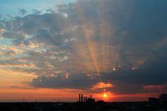 Sunbeams by Tom Ipri, via Flickr