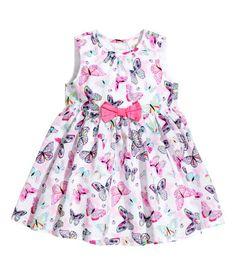 Butterfly Cotton Dress | H&M US