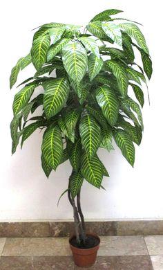 120 cm-es dekorációs fa Plant Leaves, Plants, Plant, Planets