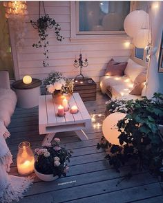 Wohnkultur Ideen DIY Dilek Wintergarten Ideen Wohnkultur Ideen DIY Dilek / Home decor ideas DIY Dilek Conservatory ideas Home decor ideas DIY Dilek / How to set up a baby room Sometimes it is difficult to find a new look for your home. Decorating is e Outdoor Spaces, Outdoor Living, Backyard Patio, Cozy Patio, Backyard Ideas, Small Patio Ideas On A Budget, Budget Patio, Backyard Retreat, Patio Table