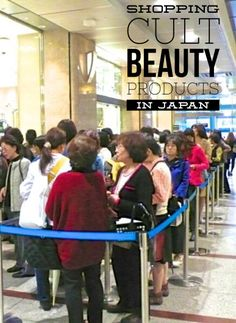 Shopping in Japan for Japanese cult beauty products-- Dolly Wink mascara and other top skincare and makeup products, a perfect travel souvenir.