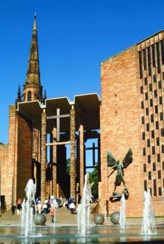 What a view! Coventry Cathedral