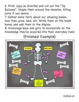 The Skeletal System Theme Unit - Printables and Worksheets