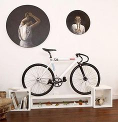 modern furniture design and bicycle storage solutions