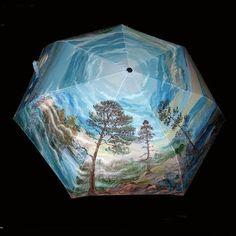 Cute Umbrellas, Decoupage, Handmade, Home Decor, Umbrellas, Hand Fans, Hand Made, Decoration Home, Room Decor