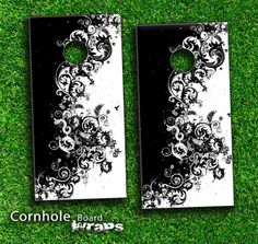 cornhole boards designs | ... Leather Skin-set for a pair of Cornhole Boards | Design Skinz, INC