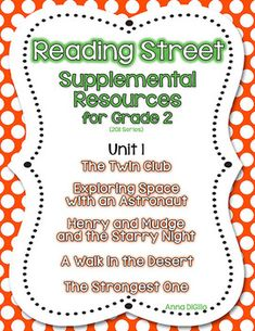 Rs the twin club on pinterest reading street 2nd grades and grade 2