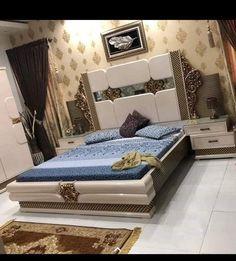 Modern Bedroom Furniture, Bed Furniture, Curtain Designs, Bed Designs, Home Room Design, House Design, Doll House Curtains, Bed Nook, Interior Work