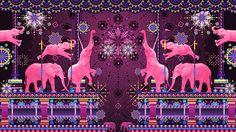 Bassnectar - Pink Elephants on Parade on Behance