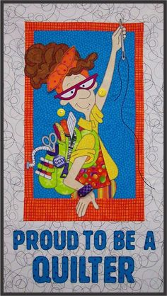 Proud to be a Quilter Download Pattern