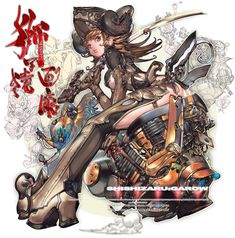 Pirates嬢Caco x 黄兎馬懿