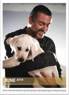 Geirge Michael a real dog lover