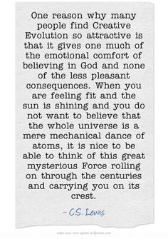 C.S. Lewis From Mere Christianity