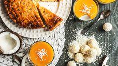 Sněhová nadílka je letos značně nepravidelná, ale na kokosové závěje se můžete spolehnout kdykoli! Pusťte se s námi do jednoduchých dezertů s tímto tropickým ovocem, a počasí vás už těžko vyvede z míry! Cornbread, Panna Cotta, Ethnic Recipes, Food, Millet Bread, Dulce De Leche, Essen, Meals, Yemek