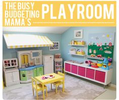 Imaginative Play Area with Awning