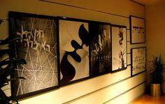 Hebrew Typo posters