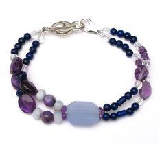 "Energy Muse Jewelry 6th ""Brow Chakra"" Chakra Bracelet"