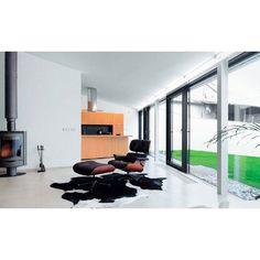 Eames Lounge Chair Wohnzimmer   Große Fensterfront