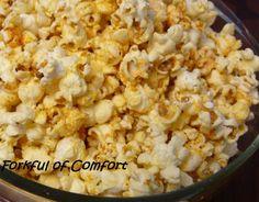 Forkful of Comfort: Cajun Popcorn