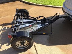 Kendon trailer replacement outside swivel caster 2003 up 1295 used 2007 kendon stand up single atvs for sale in texas 2007 kendond single rail stand up trailer gloss black with polished aluminum diamond plate asfbconference2016 Images