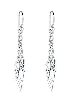 925 Silber Swarovski Ohrringe Silver Earrings Hochzeit Wedding Silvester Fashion Hochzeitsschmuck