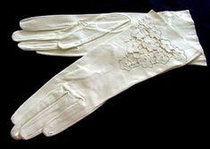 unused kid leather gloves