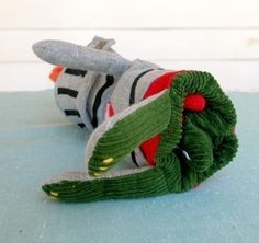 George and the Dragon Flip Doll Toy Pattern