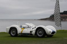 Maserati Tipo 61 Birdcage (Chassis 2458 - 2014 Pebble Beach Concours d'Elegance) High Resolution Image