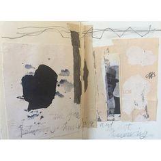 Jane Cornwall #sketchbook #collage #mixedmedia