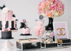 Chanel candy station #inspiration by richkidscouture