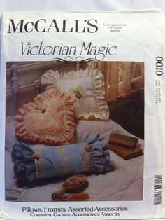 McCall's 0010 Pillows, Frames and Assorted Accessories