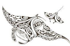 Modèle tatouage raie manta                                                                                                                                                                                 Plus