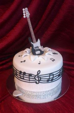 Exclusive Image of Birthday Cakes With Guitars On Them . Birthday Cakes With Guitars On Them Guitar Birthday Cakes Guitar Birthday Cakes, Guitar Cake, Birthday Cakes For Teens, Themed Birthday Cakes, Music Themed Cakes, Music Cakes, Fondant Cakes, Cupcake Cakes, Cupcakes