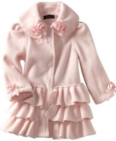 girl toddler coats cream